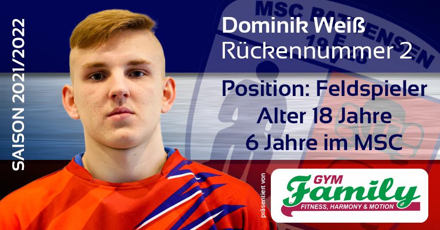 MSC Pattensen #2 Dominik Weiß