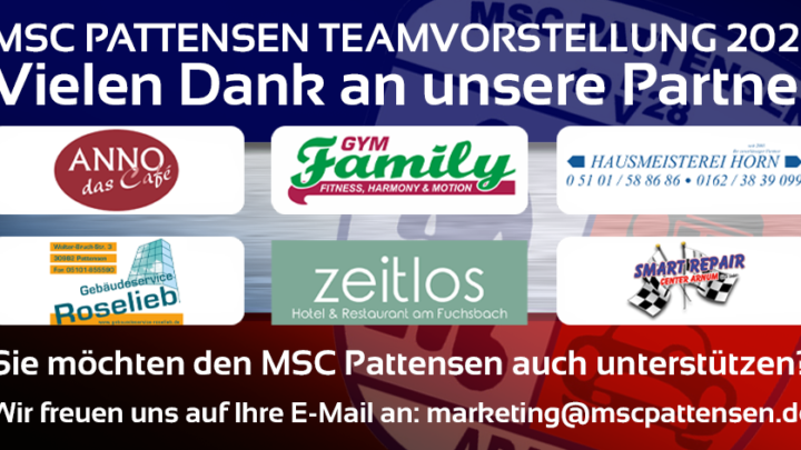 Teamvorstellung MSC Pattensen