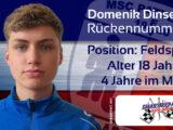Teamvorstellung: #3 Domenik Dinse