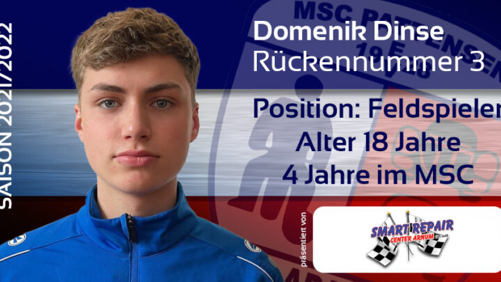 Teamvorstellung: #3 Domenik Dinse